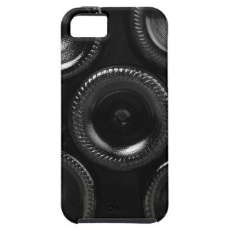Wine bottles in a wine cellar. Only the bottom iPhone 5 Cover