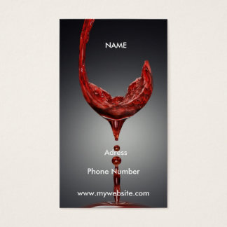 Wine Business Card