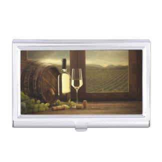Wine Business Card Holder