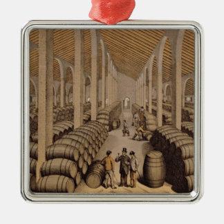 Wine Cellar at Jerez de la Frontera Christmas Ornament