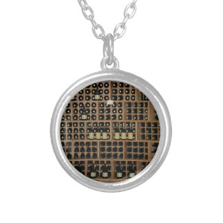 Wine Cellar Silver Plated Necklace