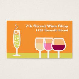 Liquor shop business cards business card printing zazzle uk wine champagne business colourmoves