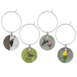 Wine Charms - Birds