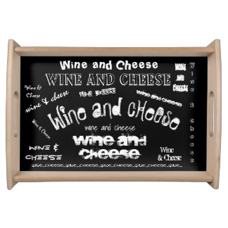Wine & Cheese Serving Tray