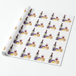 Wine & Cheese Wrapping Paper