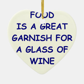 wine christmas ornament