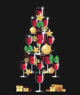 Wine Christmas Tree Shirt.Christmas Wine T Shirts Shirt Designs Zazzle Uk