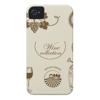 Wine Collection iPhone 4 Case-Mate Case
