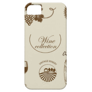 Wine Collection iPhone 5 Cases