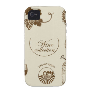 Wine Collection iPhone 4/4S Covers