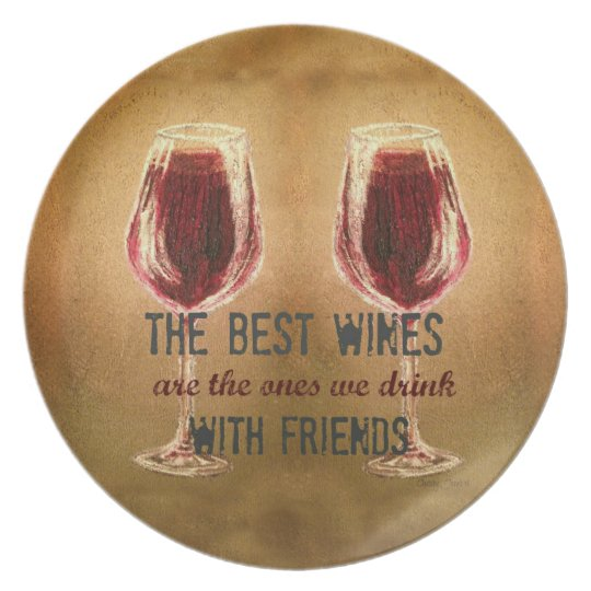Wine Collectors Plate