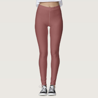 wine color legging