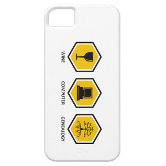 Wine Computer Genealogy iPhone 5 Cases