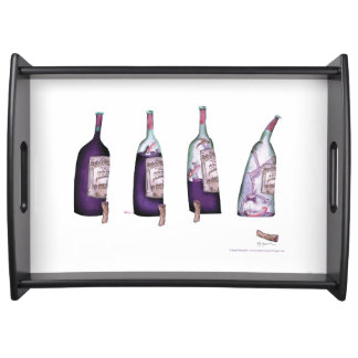 wine connoisseur, tony fernandes serving tray