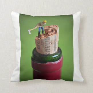 Wine cork - blank kiss cushion