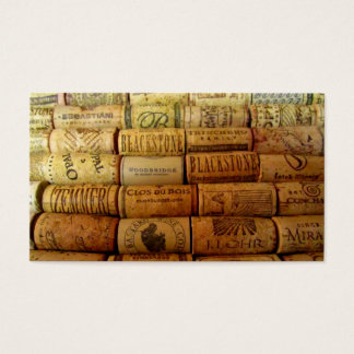 Wine Corks Business Card