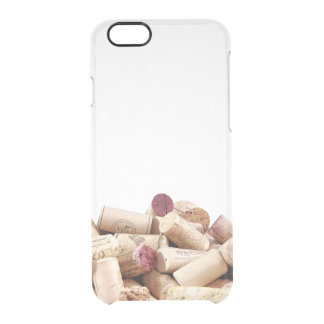 Wine Corks iPhone 6 Clear Case