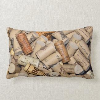 Wine Corks Lumbar Cushion