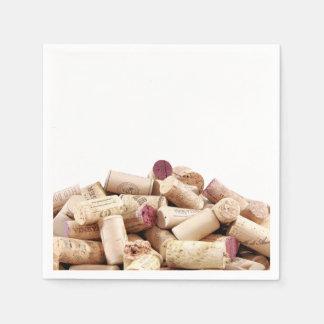 Wine Corks Napkins Disposable Napkins