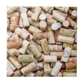 Wine Corks Tile