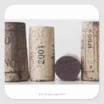 Wine corks with dates