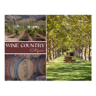 Wine Country California Post Cards