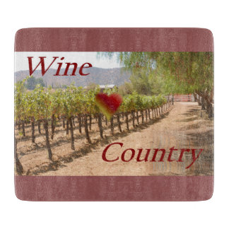 Wine Country Cutting Board