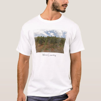 Wine Country Grape  Vineyard for Wine Theme T-Shirt