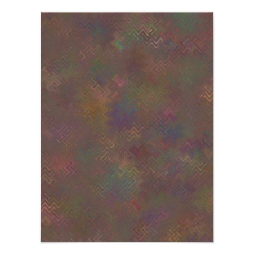 Wine Country in Autumn Abstract Print