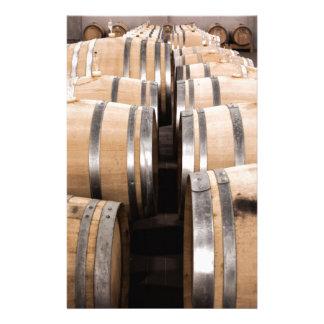 Wine Customised Stationery