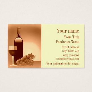 Wine Design Business Card