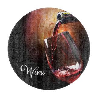 Wine Design Glass Cutting Board