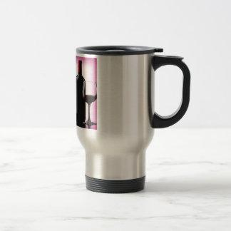 Wine Design Travel Mug
