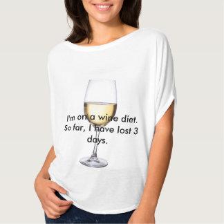 Wine Diet shirt