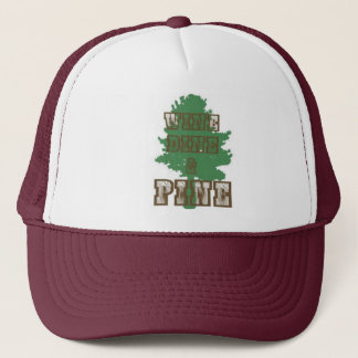 WINE DINE PINE TRUCKER HAT