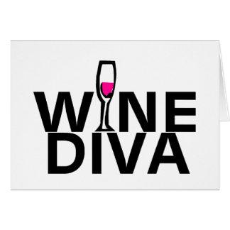 Wine Diva Card