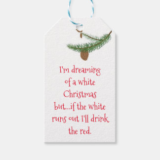 Wine Enthusiast Christmas Gift Tags