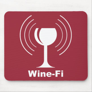 Wine-Fi Humor Mouse Mat