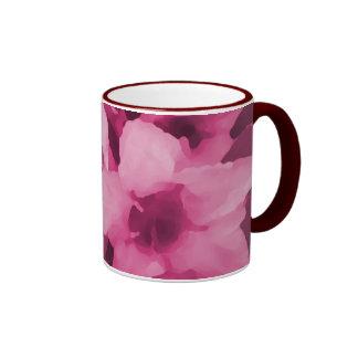 Wine Flowers Coffee Mugs