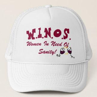 Wine For Sanity Hat! Trucker Hat