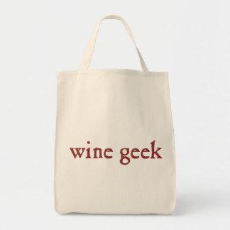 Wine Geek Tote Bag
