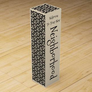 Wine Gift Box for New Neighbors - Elegant 1