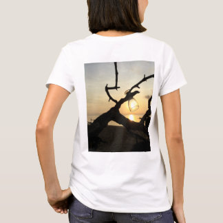 Wine glass and sunset T-Shirt