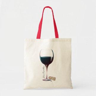 Wine Glass Art Personalised Logo Tote Bag
