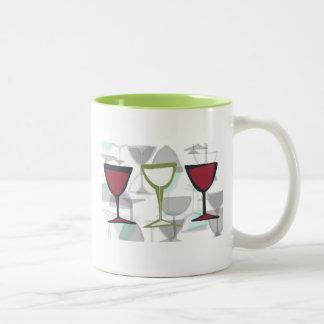 wine glass mug design