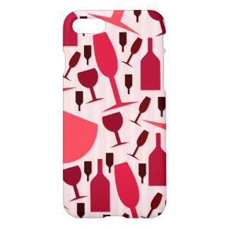 Wine glass pattern iPhone 7 case