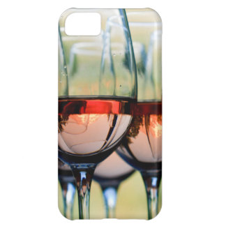 Wine Glasses Filled with Mount Hood iPhone 5C Case