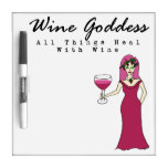 "Wine Goddess ""All Things Heal"" Small"