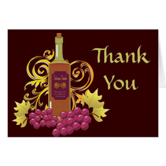 Wine & Grapes Card