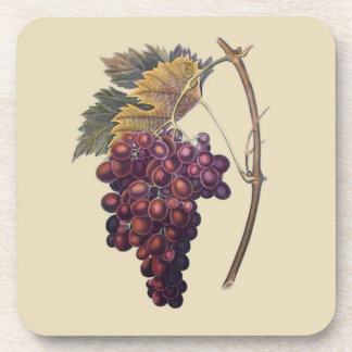 Wine Grapes Coasters